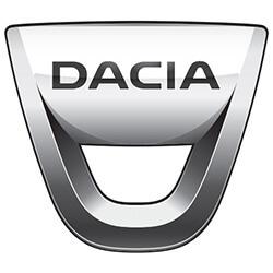 dacia logo van racking