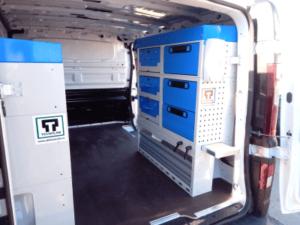 Trafic Van racking 