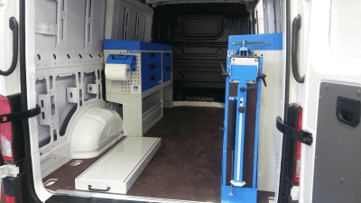 van racking crafter