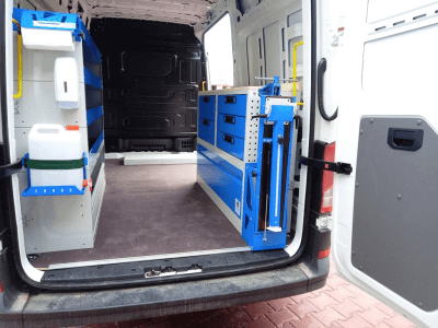 van equipment crefter