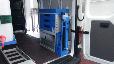 VAN RACKING CRAFTER RIGT SIDE