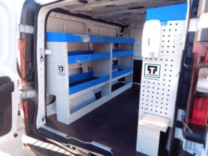 Renault Trafic Van racking 